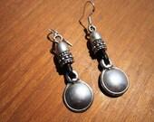 round earrings, Stud earrings, earrings for women, silver stud earrings, Teardrop earrings, unique earrings, fashion earrings, etsy earrings