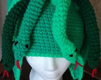 Crochet Medusa Hat