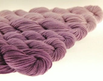 Ombre Mini Skeins DK or Fingering Gradient Yarn  - Royal Robes -  600 yards