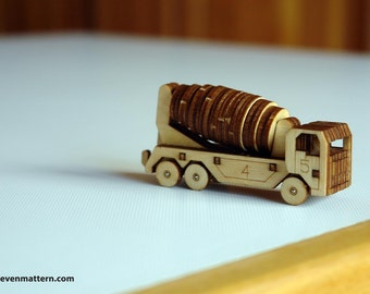 Concrete Mixer Toy Kit - Build Your Own!