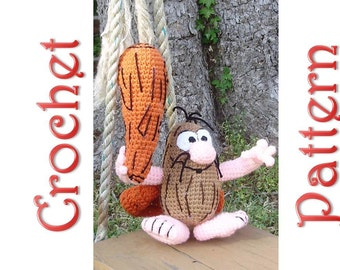 Capt. Caveman a Crochet Pattern by Erin Scull