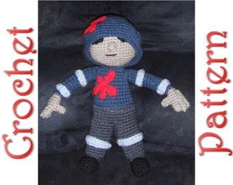 Zombie Hunter A Crochet Pattern by Erin Scull