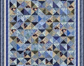 "KEW GARDENS - 82"" x 70"" King Single or 67"" x 55"" Single - Quilt-Addicts Pre-cut Quilt Kit or Finished Quilt"