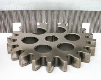Industrial Contour Gauge Vintage Shaping Tool Mimics Shapes