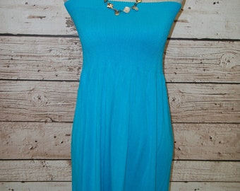 Strapless Sundress - 12 Colors - Free Shipping to USA