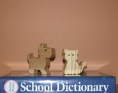Toy Animals for Child's Imaginagion - Domestic Duo - Dog and Cat - Kids Toys
