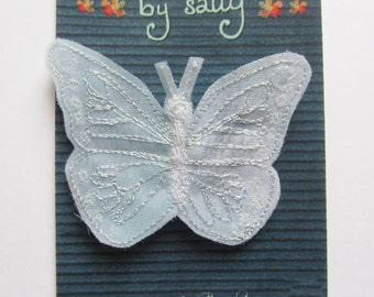 Ice Butterfly Brooch