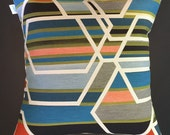 CUSTOM for STACEY - Sarah Morris AGENCY Fabric Pillow Cover - Mid Century Modern -  Maharam Textile - Many sizes available