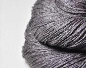 Dead walnut wood - Silk/Linen Fingering Yarn