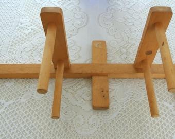 Warping Board/Inkle Loom-Maple-Vintage-Weaving Supplies