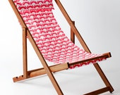 Panjin Deck Chair, Sling Chair, Handmade Outdoor Furniture