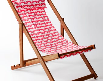 Panjin Deck Chair, Sling Chair, Handmade Outdoor Furniture