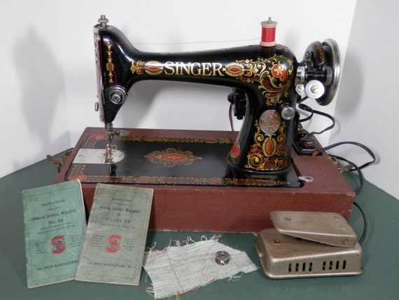 electric sewing machine 1920