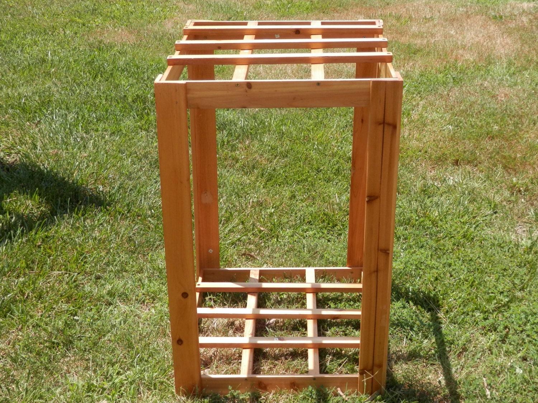 yard garden long handle tool rack holder sports by 2lewa on etsy. Black Bedroom Furniture Sets. Home Design Ideas