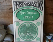 Feasts and Seasons Love Songs of the Irish Yeats James Joyce traditional folk poems and stories paperback superb graphics