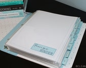 MENU PLAN - Clean Mama's RECIPE Binder Kit - 42 documents - Instant Download