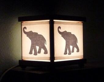 Gray Elephant Night Light Elephants Decor Lighting