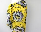 Yellow sarong hawaiian sarong beach sarong pareo wrap swimsuit coverups floral beachwear bathing suit sarongs beach cover up beach wrap