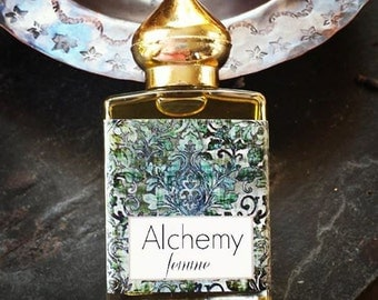 ALCHEMY Femme // Essential Oil Perfume for Women // grapefruit Ylang Ylang jasmine// for Transformation Strenght and Sexy Magic