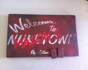Call of Duty Nuketown ZOMBIE Version Custom Door/wall Sign .