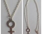 Female Symbol Necklace Feminist