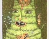 Pine Tree Spirit (limited edition print)