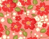 Marmalade Bonnie & Camille small floral red/pink moda fabric FQ or more