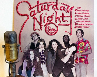 Saturday Night Live: SNL Vinyl Record Lp Original Cast/Not Ready for Prime Time Players 1970s TV show (1976 Arista Records w/John Belushi)