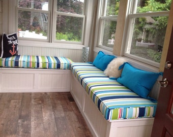 Custom Cushions and Covers with Piping