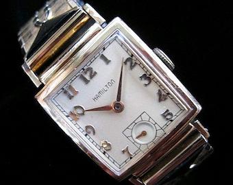 "Hamilton Watch - The ""Ross"" Model - c.1939"