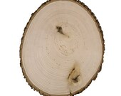 Sale Item on three Rustic Wood Tree Slice Irregular Shape Centerpieces Wedding Decorations Wooden Rounds