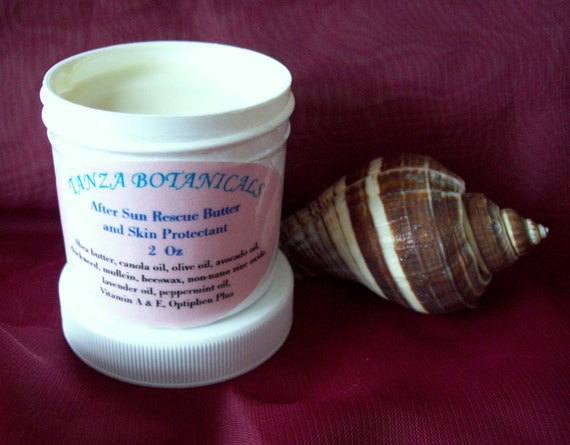 After Sun Rescue Butter and Skin Protectant, Tattoo Cream  2 Oz