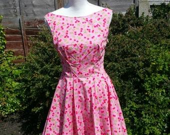 Cherry baby skater dress size 10