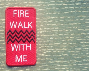 "Twin Peaks ""Fire Walk With Me"" Patch"