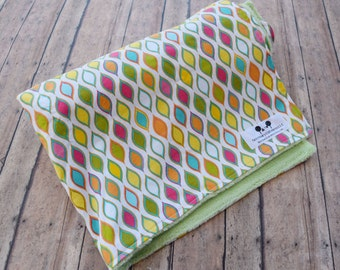 SALE Minky Baby Blanket - Gender Neutral Baby Gift  - Designer Blanket