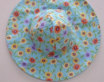 Todddler Beach Hat, Baby Sun Hat, Baby Floppy Hat, Toddler Sun Hat, Sun Hat Baby , Ready to Ship