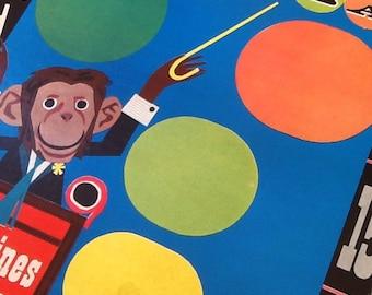 Monkeyshines Metal Bean Bag Game