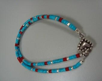 Gorgeous turquoise bracelet