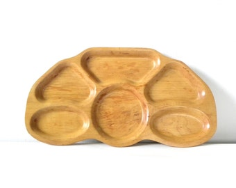 Vintage Maple Wood Stanwood Serving Tray/1940s Serving Tray