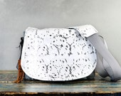 White Leather Camera Bag New Satchel  -   Wedding Photography DSLR - PRE ORDER