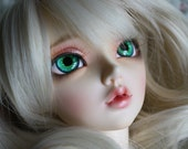BJD eyes Doll eyes Hand made available in 12141618202224mm Magical Moonstone made to order