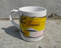 vintage hawaii mug hilo hattie ceramic hawaiian souvenir
