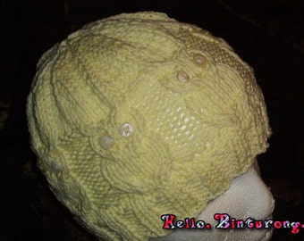 Owl Cable Hat