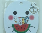 Summer Cute Ghost Sticker Flakes Set 71 Sheets Mindwave Japanese SS458