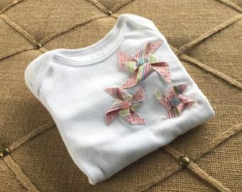 Pinwheel onesie