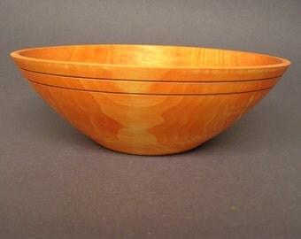 Tulip wood salad bowl.