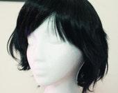 Shaggy Short Black Wig