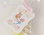 Mermaid Favor Tags by Loralee Lewis