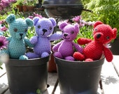 Barnabas Crochet Teddy Bear Toy