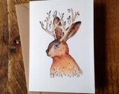 Jackalope // Greeting Card